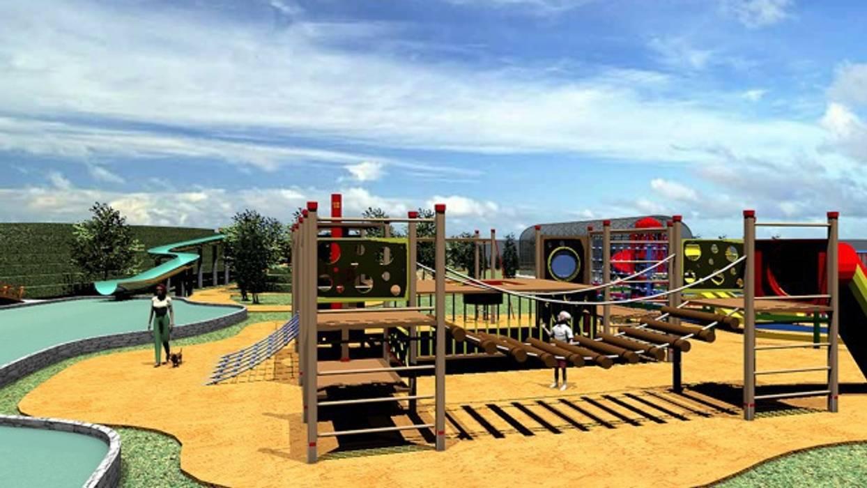 Playground: Palacios de congresos de estilo  de CADOT
