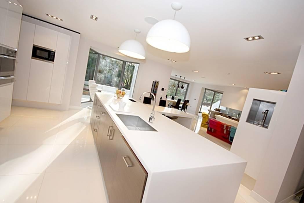 Lighting Modern kitchen by Inspire Audio Visual Modern