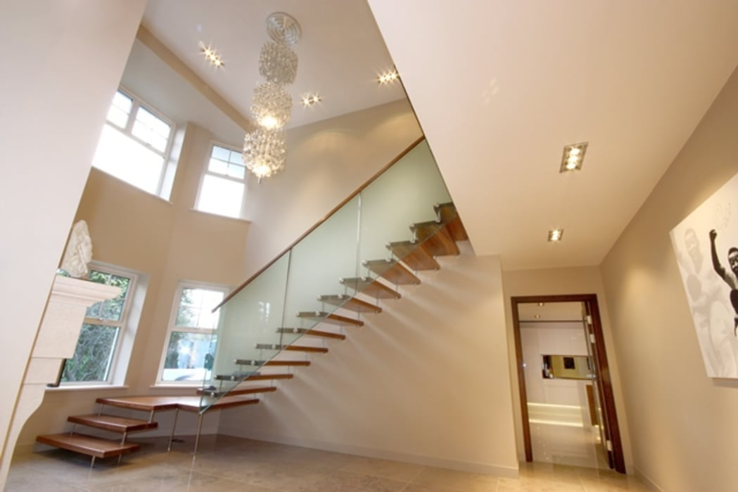 Lighting Modern corridor, hallway & stairs by Inspire Audio Visual Modern