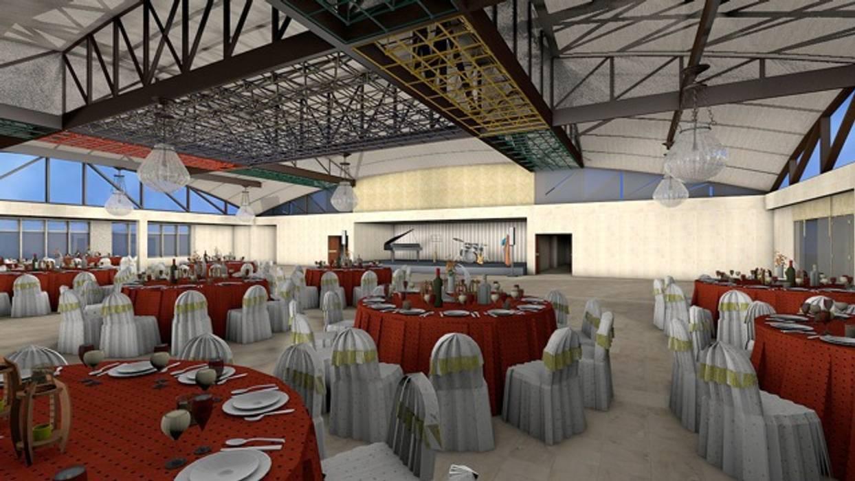 Gran Salon amoblado: Palacios de congresos de estilo  de CADOT