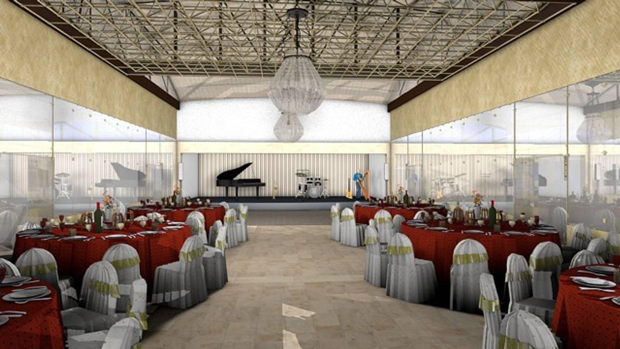 Salon Alternativa 1: Palacios de congresos de estilo  de CADOT