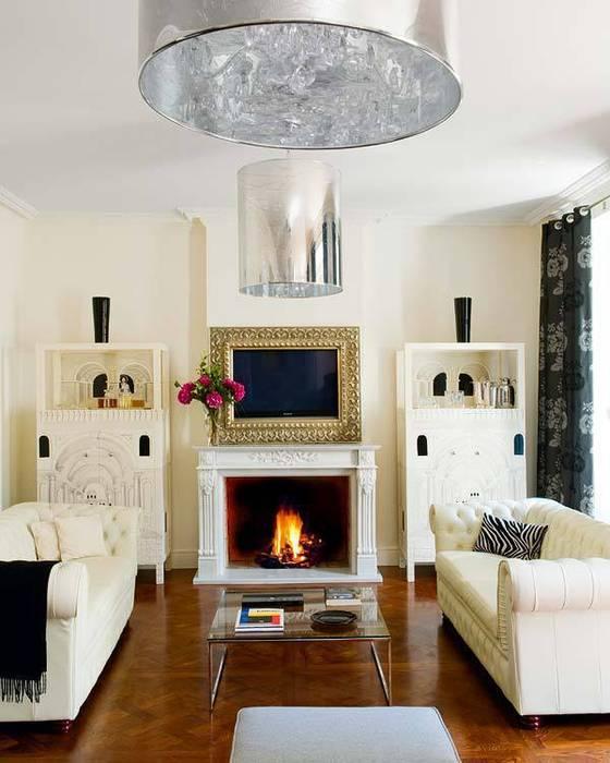 double trouble! Casas de estilo clásico de nikohl cadeau interiors Clásico