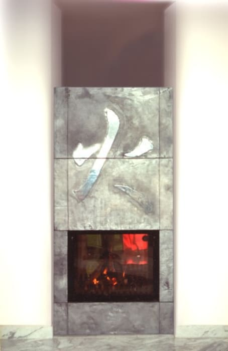 fireplace 1 CHRISTIAN THEILL DESIGN Living roomFireplaces & accessories