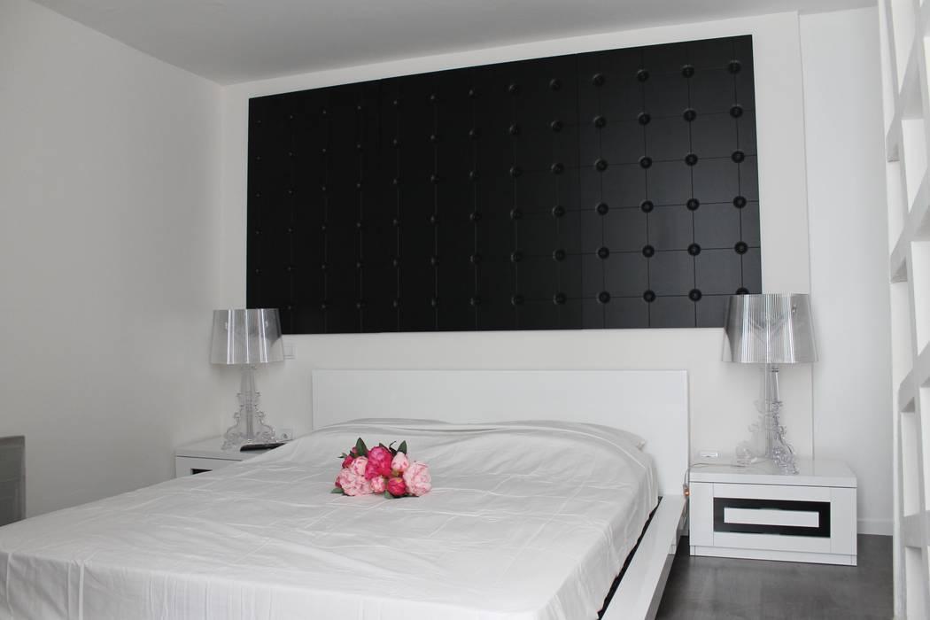 Chambre moderne Chambre moderne par Agence ADI-HOME Moderne
