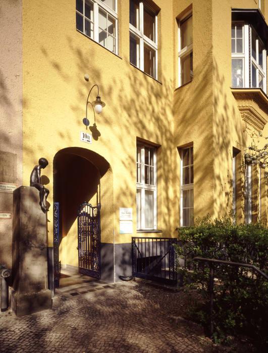 Eingangsbereich Koloniale Häuser von Gabriele Riesner Architektin Kolonial