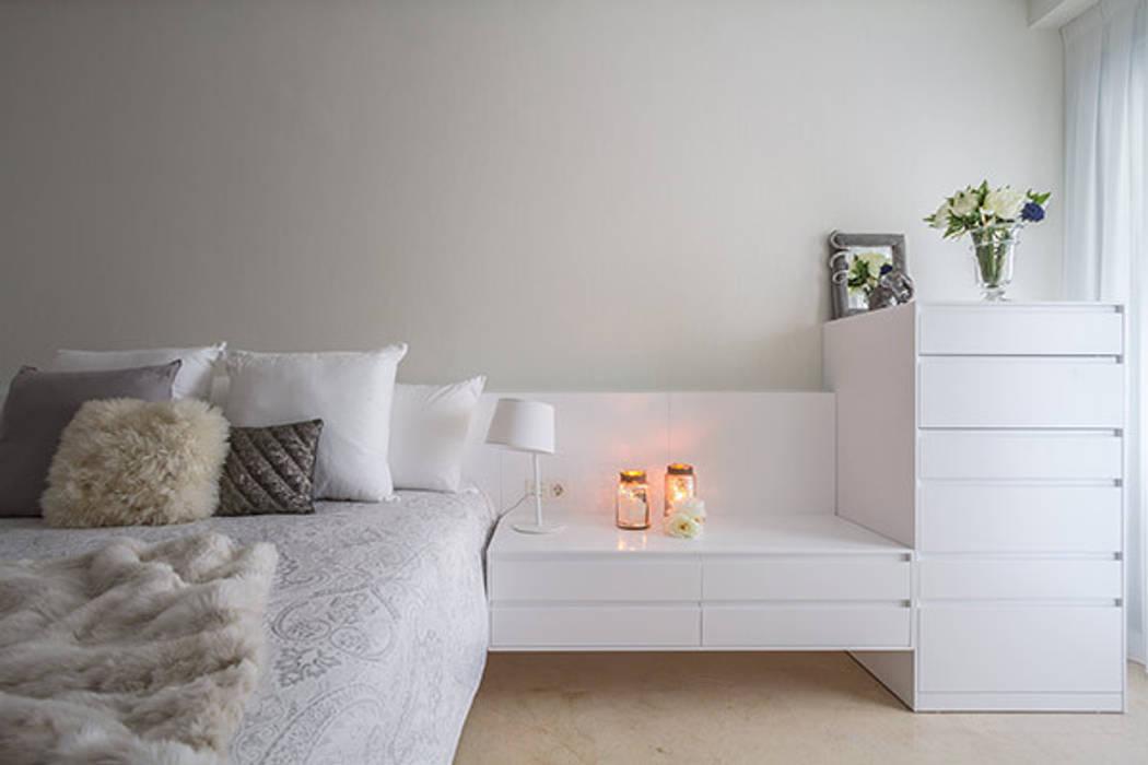 Dormitorios cálidos Laura Yerpes Estudio de Interiorismo Casas de estilo moderno