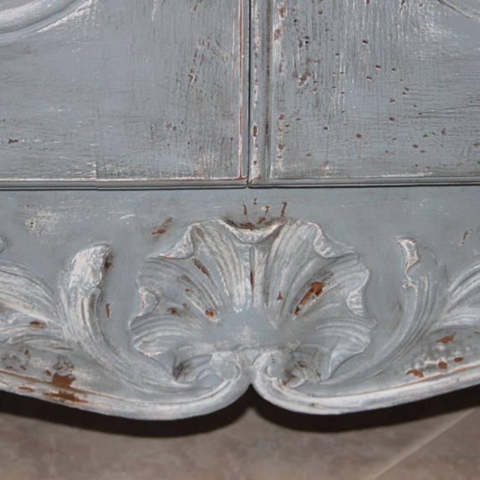 Credenza francese in stile luigi xv decorata e rifinita a mano: sala ...