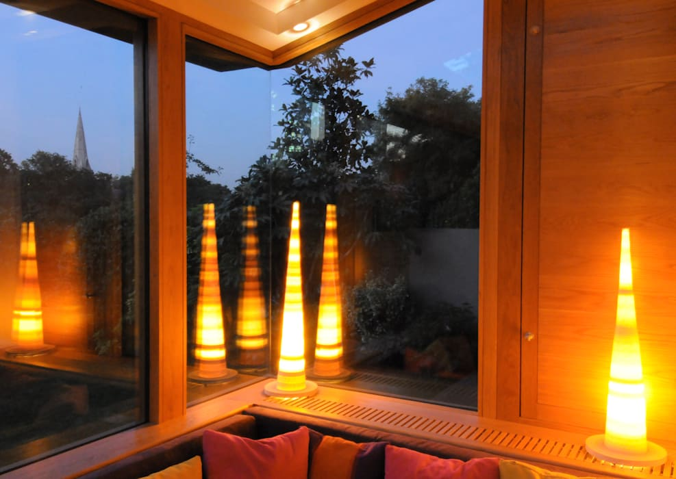 Primrose Hill, House Extension:   by Jeff Kahane + Associates