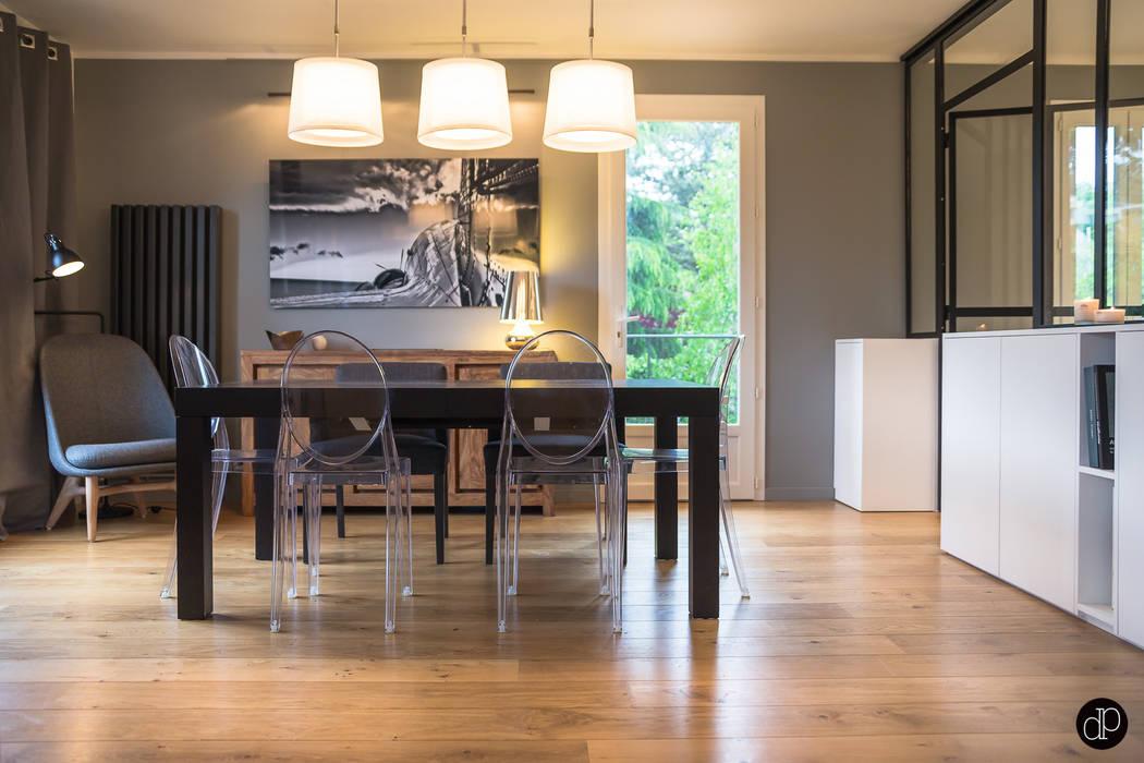 La nouvelle salle à manger Cuisine moderne par Décoration Parisienne Moderne