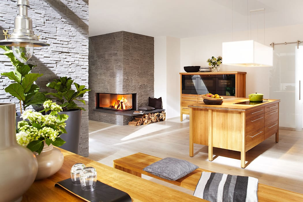 Massivholz Modulküche pure nature:  Küche von annex Gmbh & Co. KG