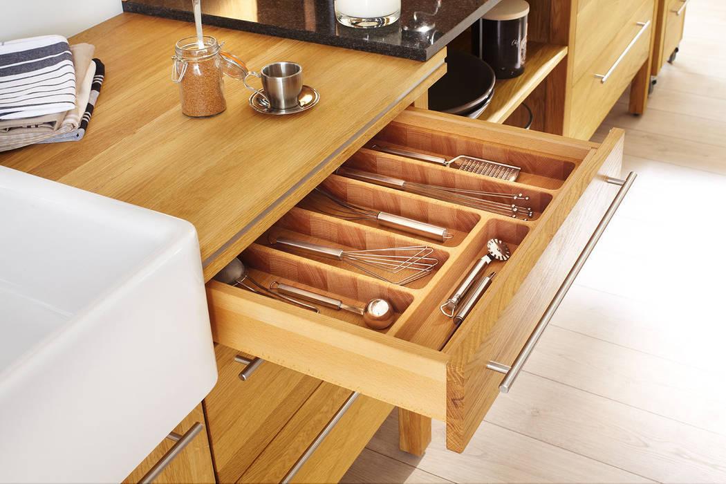 Massivholz Modul:  Küche von annex Gmbh & Co. KG