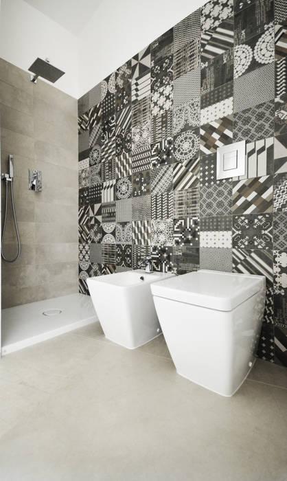 bagno principale Bagno eclettico di francesco valentini architetto Eclettico