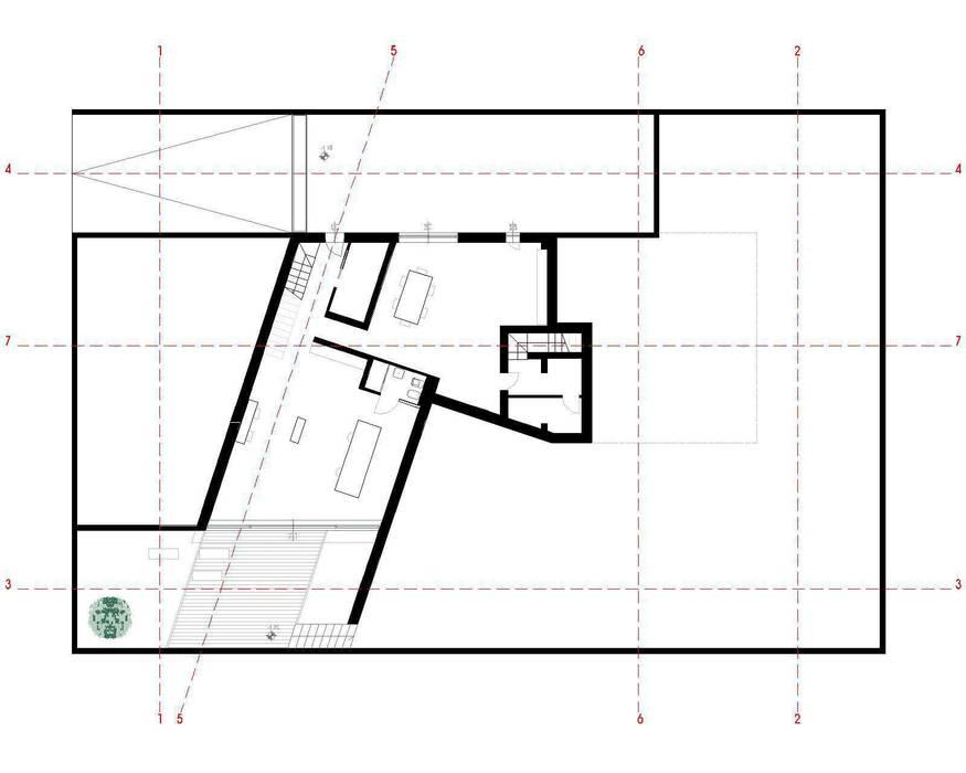 house studio: living workshop von francesco valentini architetto Ausgefallen