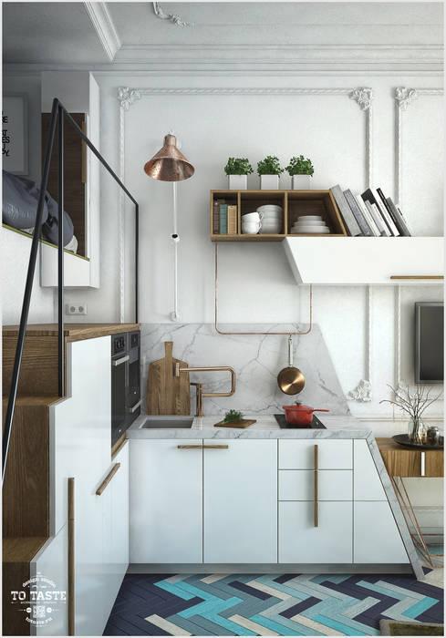 Кухонный гарнитур Кухни в эклектичном стиле от ToTaste.studio Эклектичный