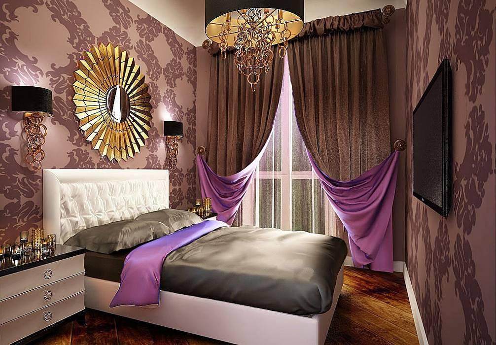 Frazionamento appartamento da 157 mq, trasformati in due unità da 107 e 50 mq. Case eclettiche di GF Studio Design Eclettico