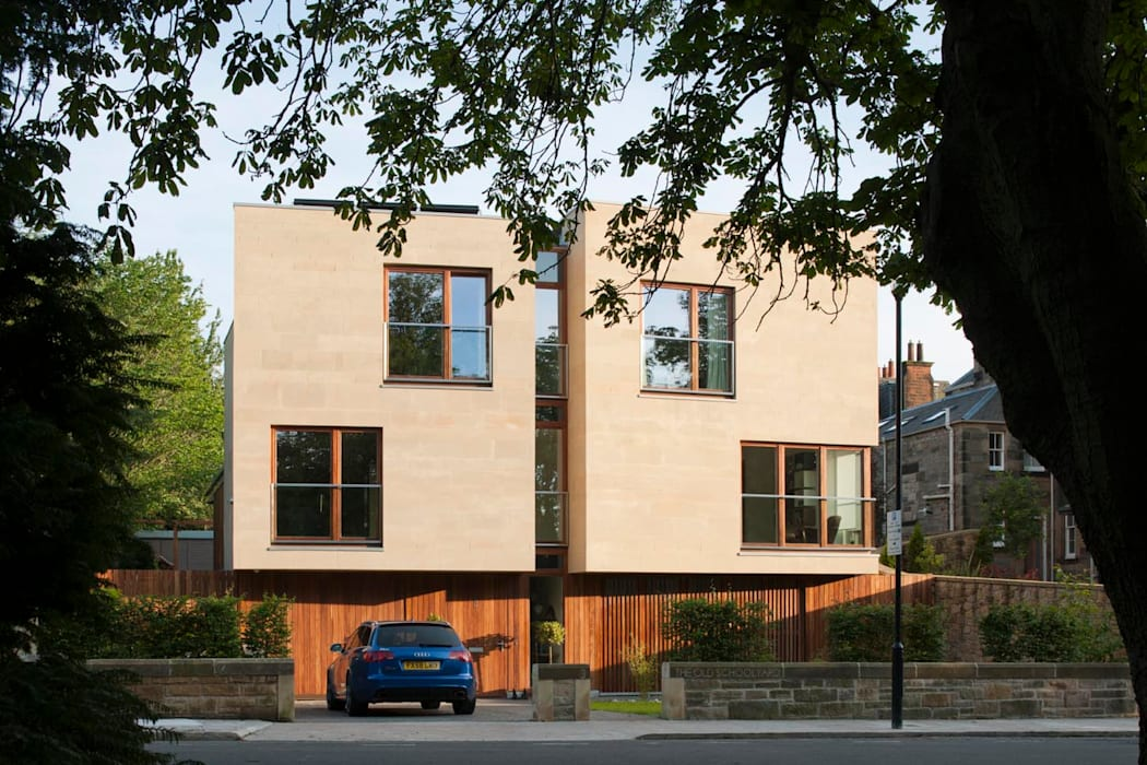 New villa in West Edinburgh:  Houses by ZONE Architects