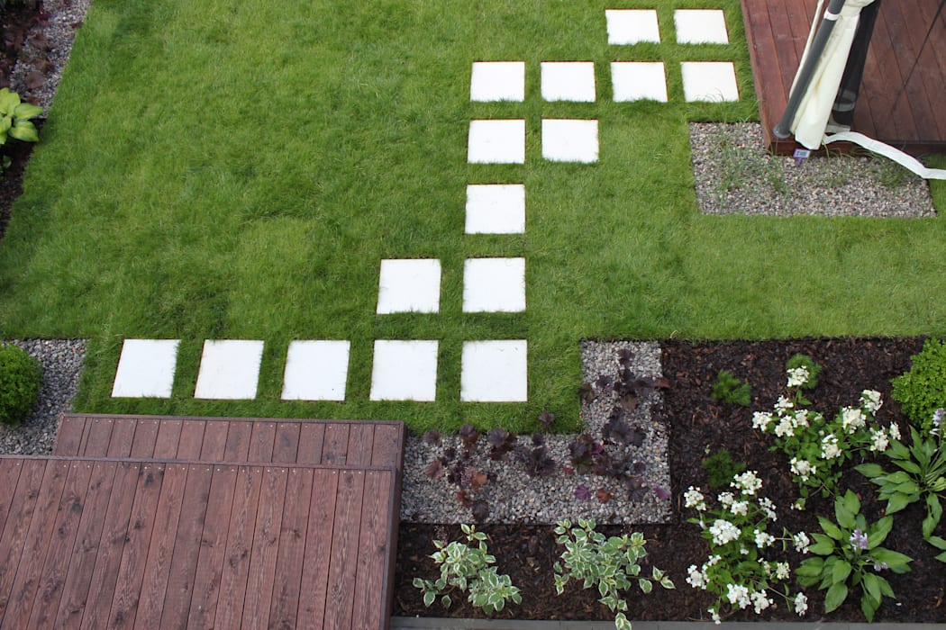 Jardines de estilo  por GREENERIA,