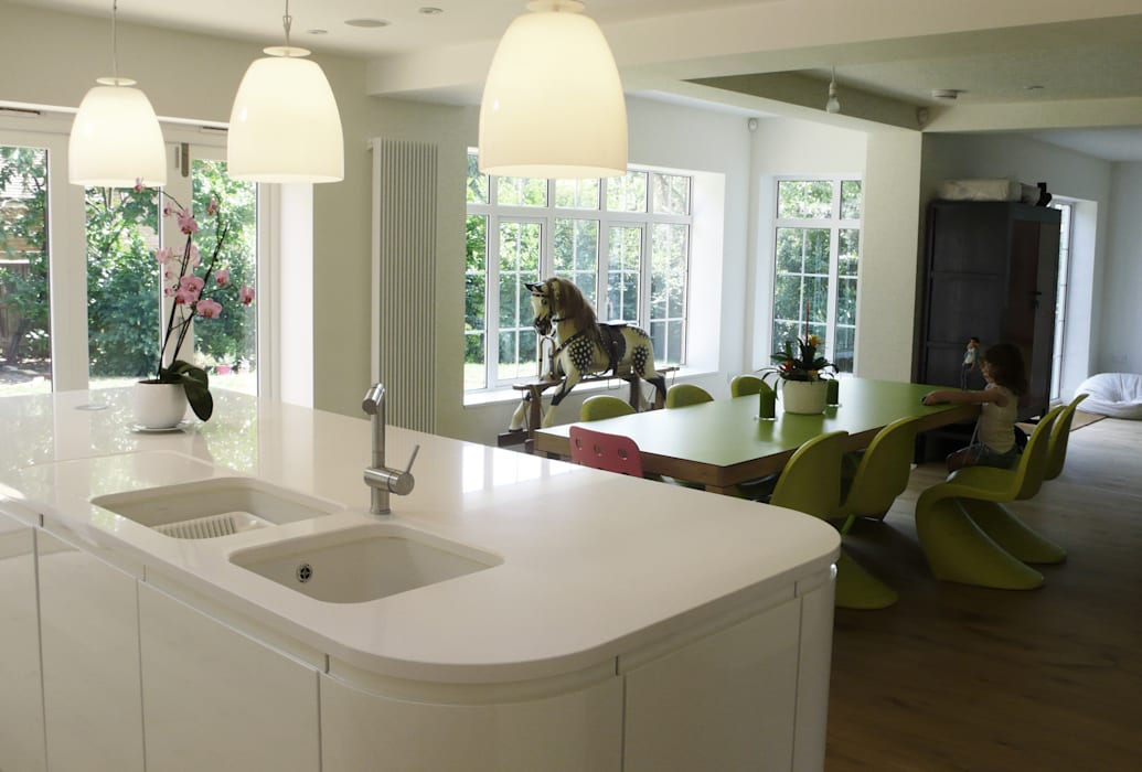 Private Residential Refurbishment, Kent Modern kitchen by homify Modern
