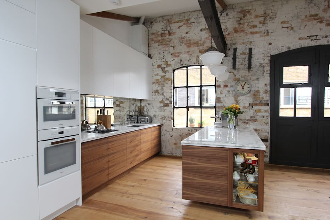 Shoreditch EC1: Warehouse Living:  Kitchen by Increation,