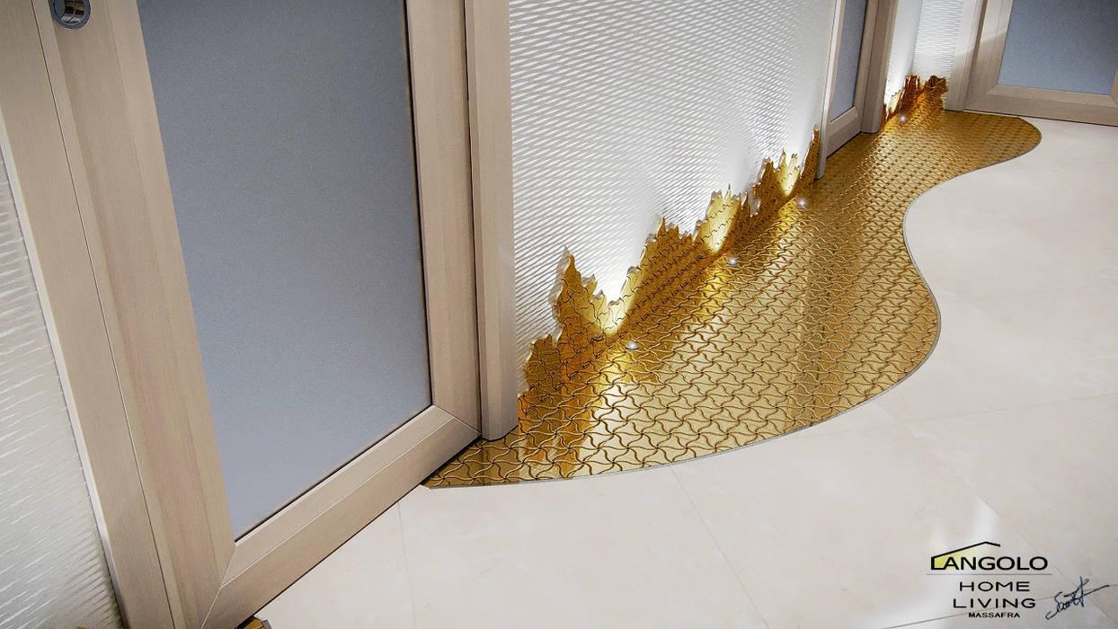 Corridoio Ingresso, Corridoio & Scale in stile eclettico di LANGOLO HOME LIVING Eclettico