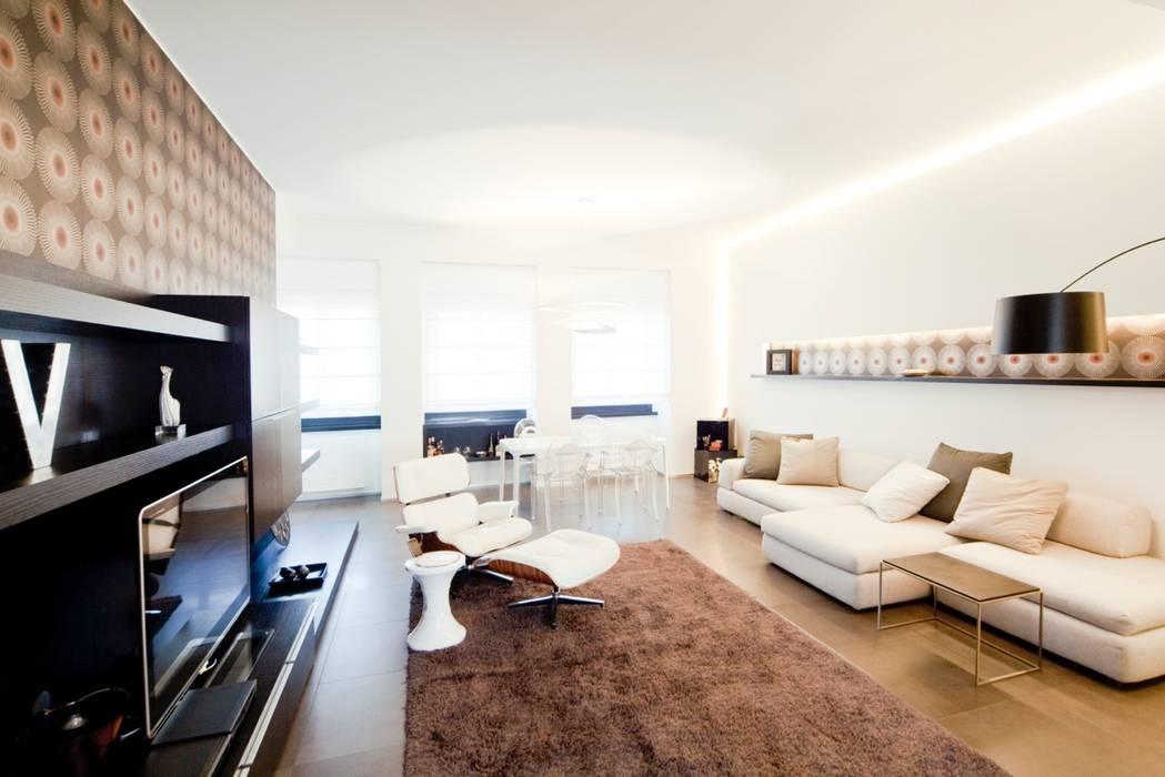 Salotto Soggiorno moderno di MNA Studio | Macchi Nicastri Architetti Moderno