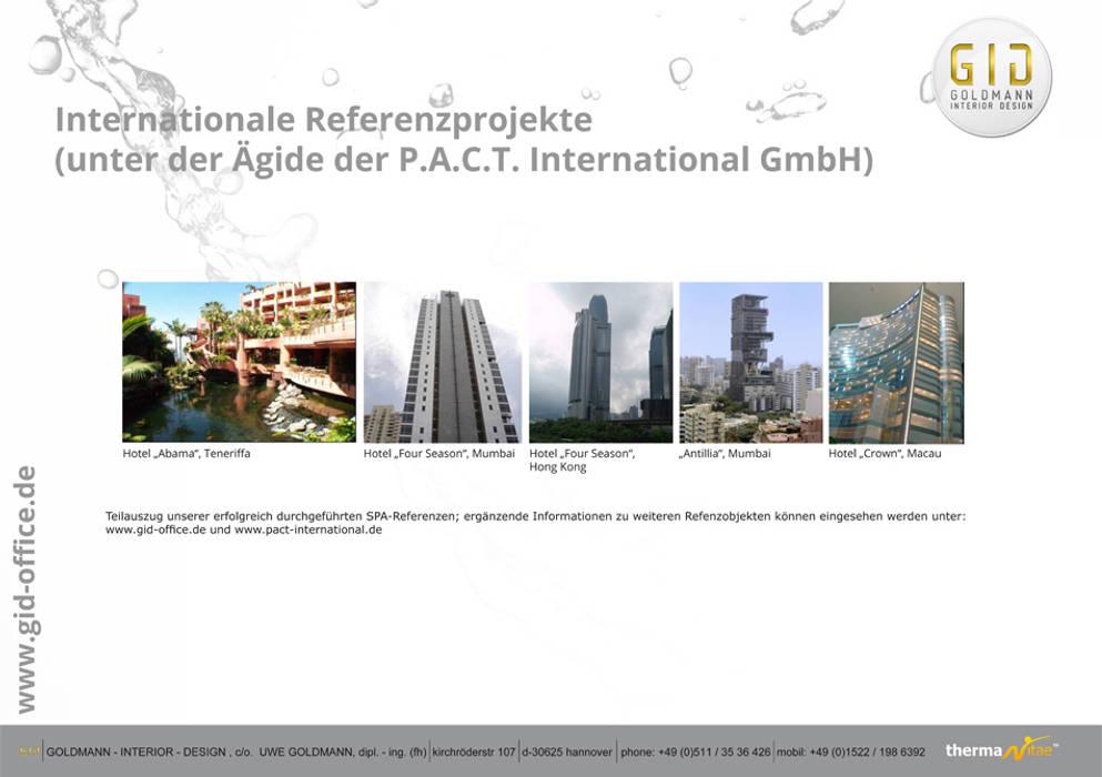 Referenzobjekte:  Hotels von GID│GOLDMANN-INTERIOR-DESIGN - Innenarchitekt in Sehnde