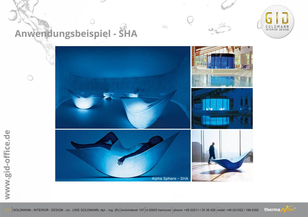 Anwendungsbeispiel:  Hotels von GID│GOLDMANN-INTERIOR-DESIGN - Innenarchitekt in Sehnde