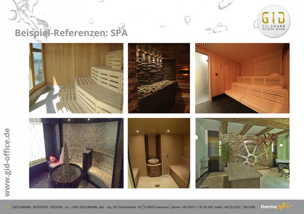 SPA:  Hotels von GID│GOLDMANN-INTERIOR-DESIGN - Innenarchitekt in Sehnde