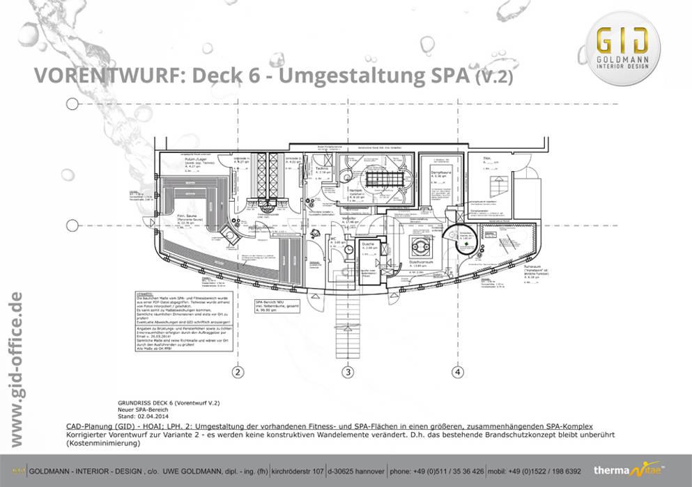 Nachher:  Hotels von GID│GOLDMANN-INTERIOR-DESIGN - Innenarchitekt in Sehnde