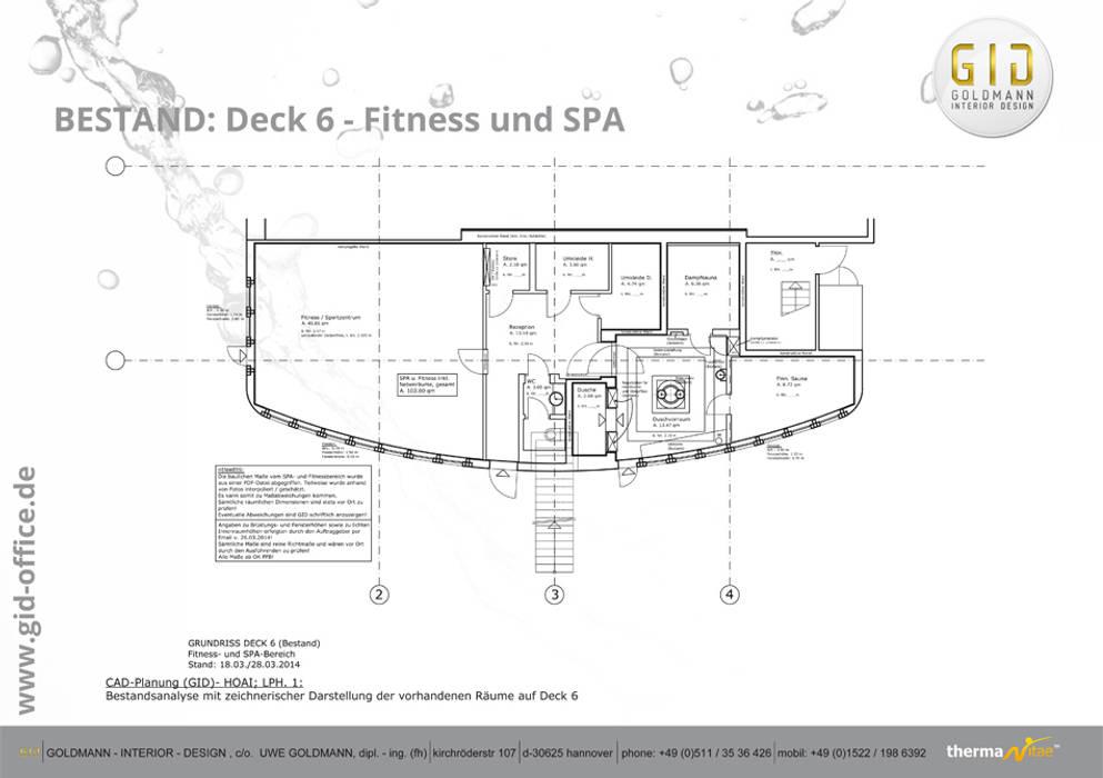 Vorher:  Spa von GID│GOLDMANN - INTERIOR - DESIGN