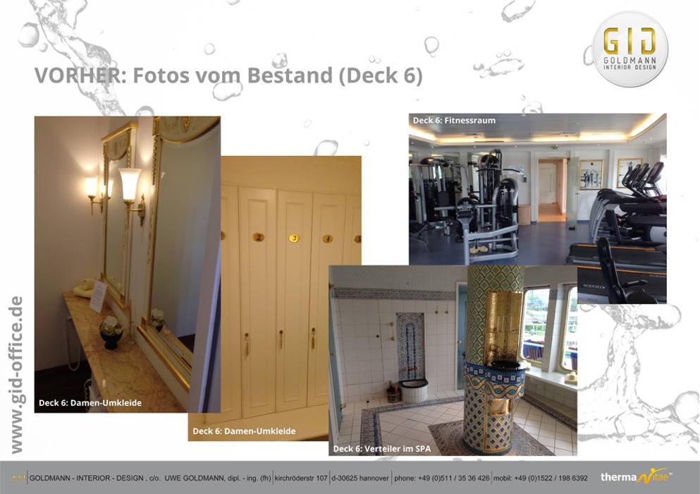 Vorher Klassische Hotels von GID│GOLDMANN-INTERIOR-DESIGN - Innenarchitekt in Sehnde Klassisch