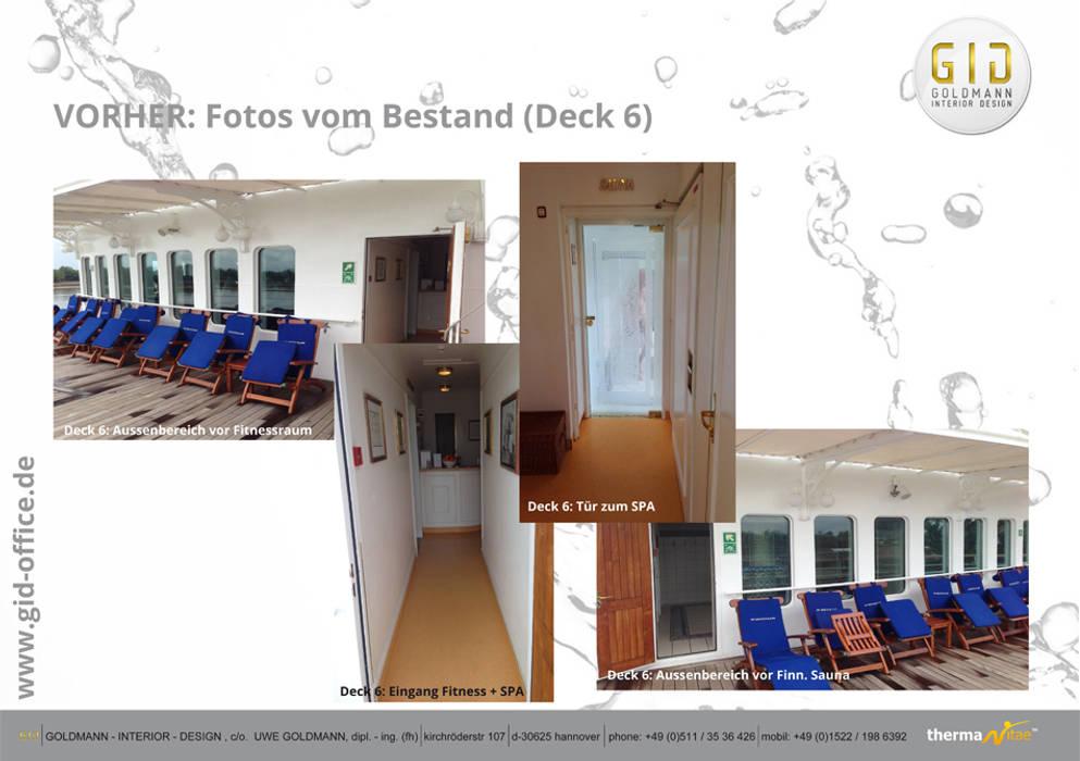 Vorher:  Hotels von GID│GOLDMANN-INTERIOR-DESIGN - Innenarchitekt in Sehnde