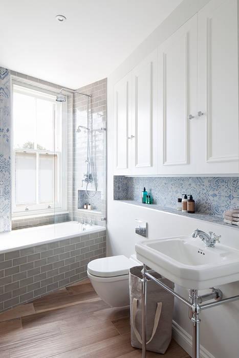 Oakhill Court, Putney Ardesia Design Salle de bain rustique