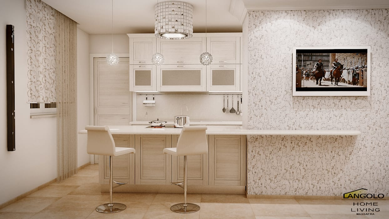 Cucina classico contemporaneo: cucina in stile di langolo home ...