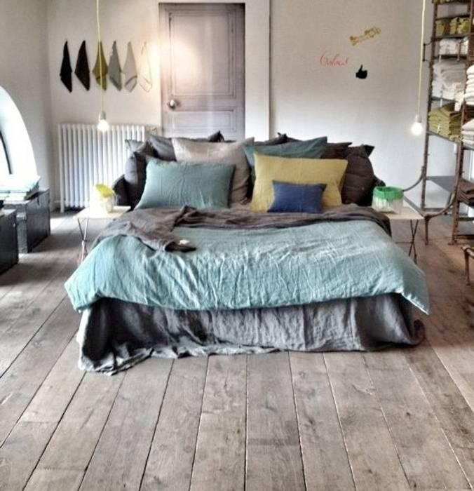 Mediterranean style bedroom by Scenes d'interieuR Mediterranean