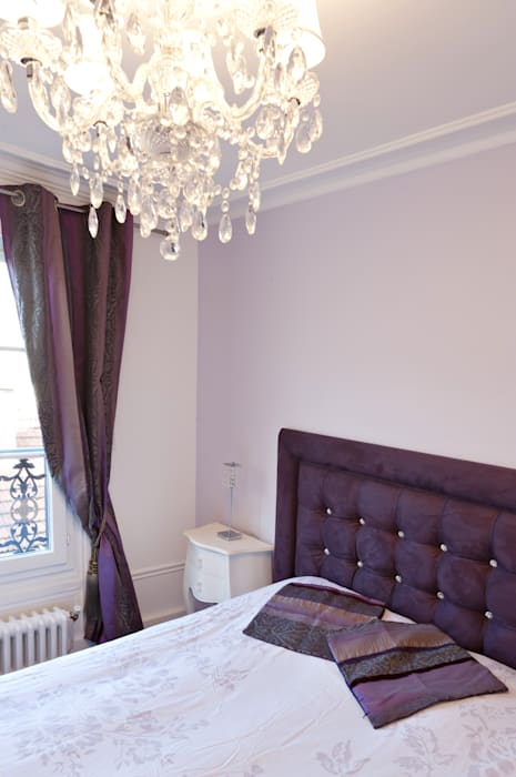 Une chambre classique: Chambre de style  par Fables de murs