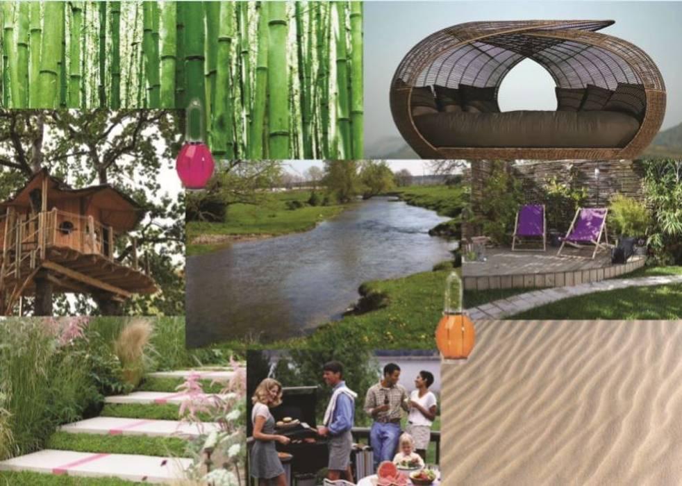 Planche d'inspiration: Jardin de style  par Bulles d'Inspi