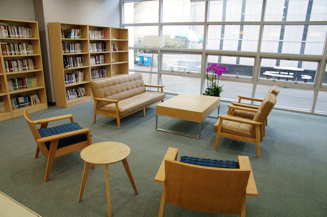 The Seoul Institute Library 2012, Seochogu, Seoul, Korea: Design Solution의  회의실,