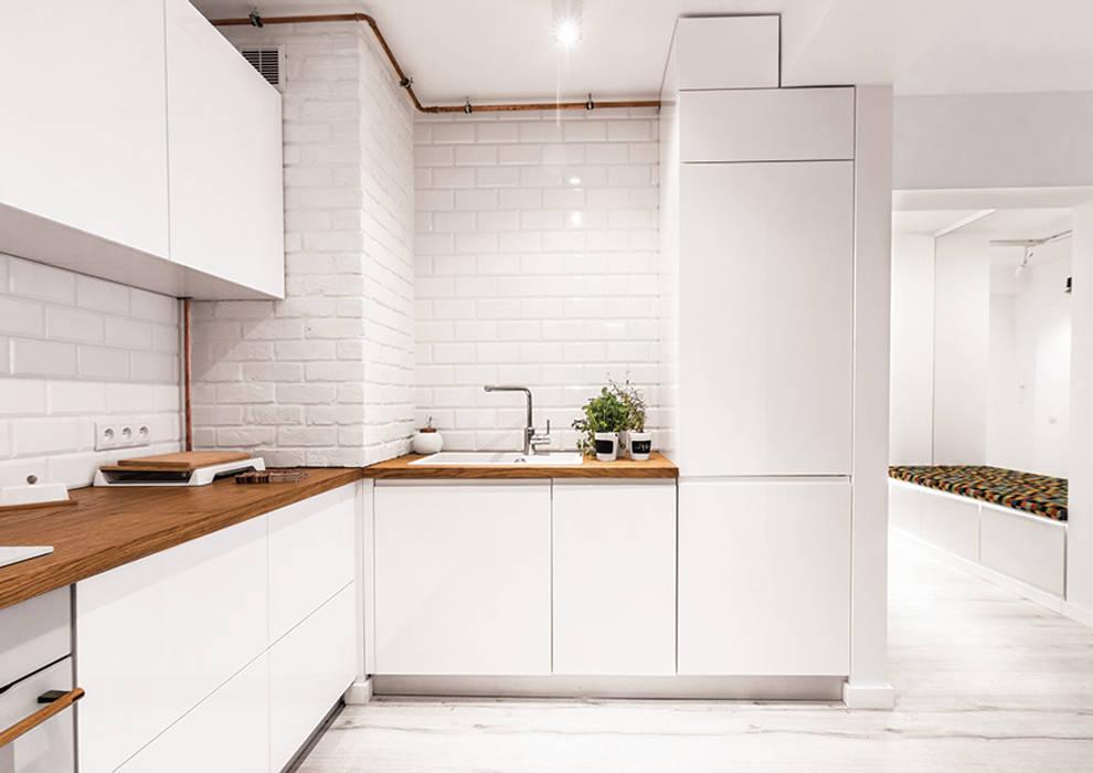 Cocinas de estilo moderno de grupa KMK sp. z o.o Moderno