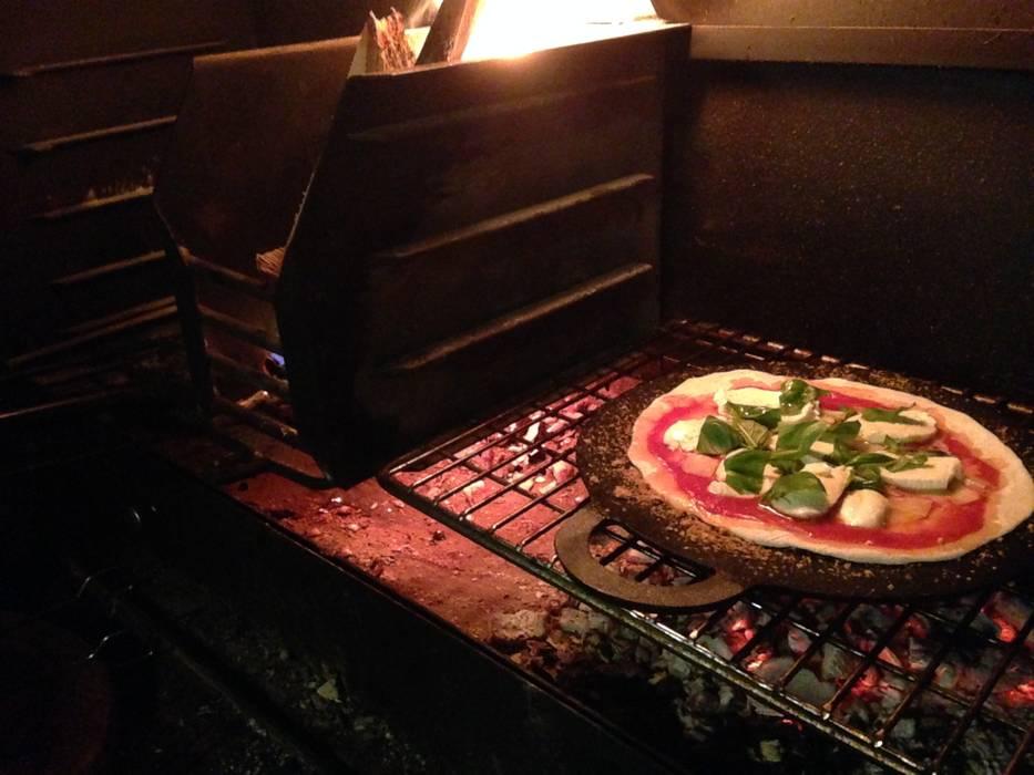 Pizza on the Braai The Braai Man GartenFeuerplätze und Grill