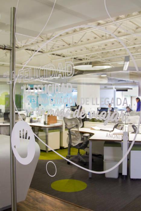 Diseño Gráfico Edificios de oficinas de estilo moderno de Oxígeno Arquitectura Moderno