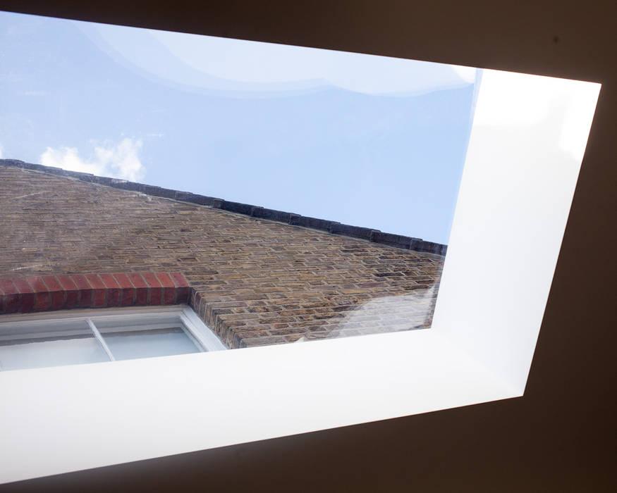 Skylight, Detail Minimalistische Fenster & Türen von Francesco Pierazzi Architects Minimalistisch