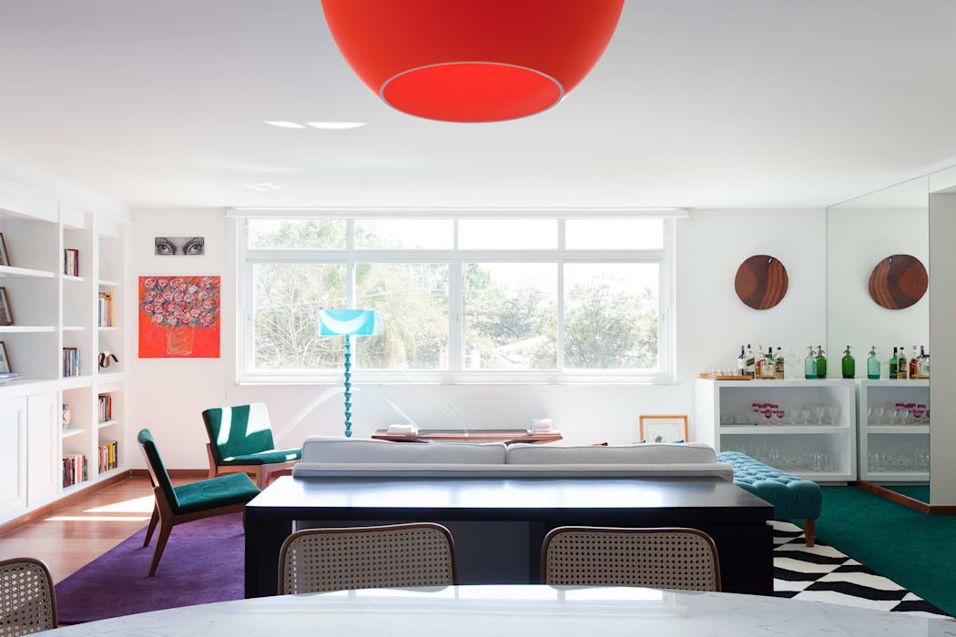 Modern Living Room by Suite Arquitetos Modern