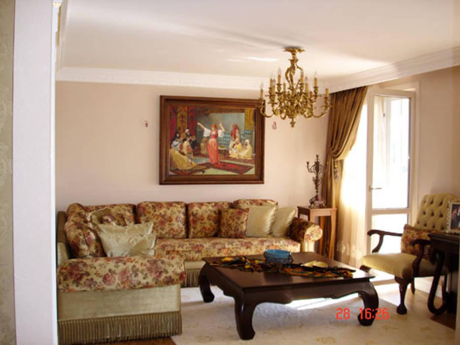 Hülya Güneş Evi AR-ES MİMARLIK TİCARET LTD STİ Modern Oturma Odası