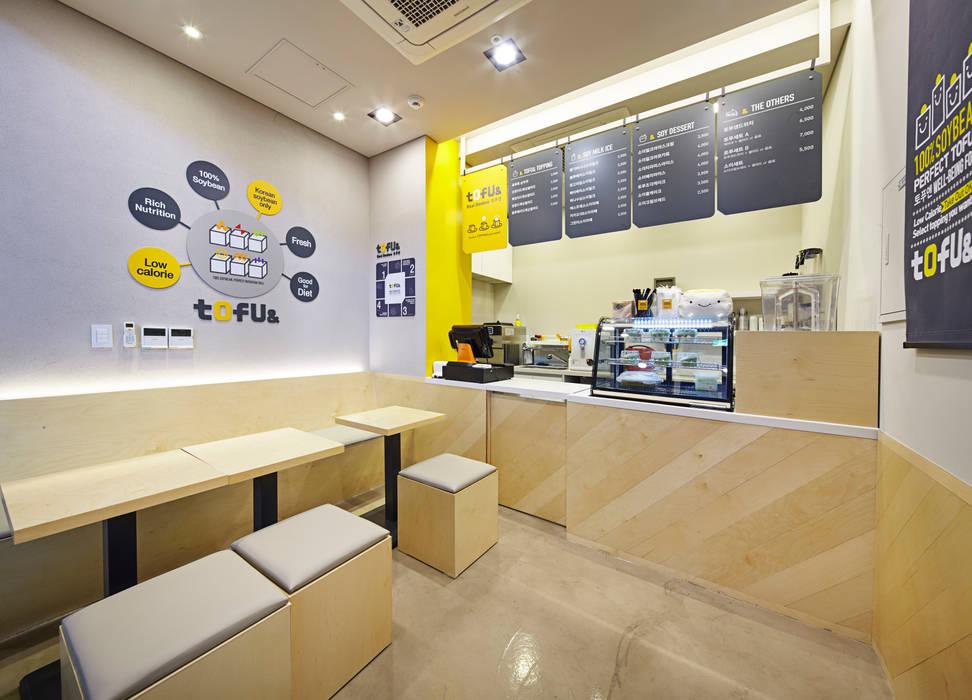 TOFU& Store Identity Manual 2015 , Pangyo, Gyeonggido, Korea: Design Solution의  상업 공간