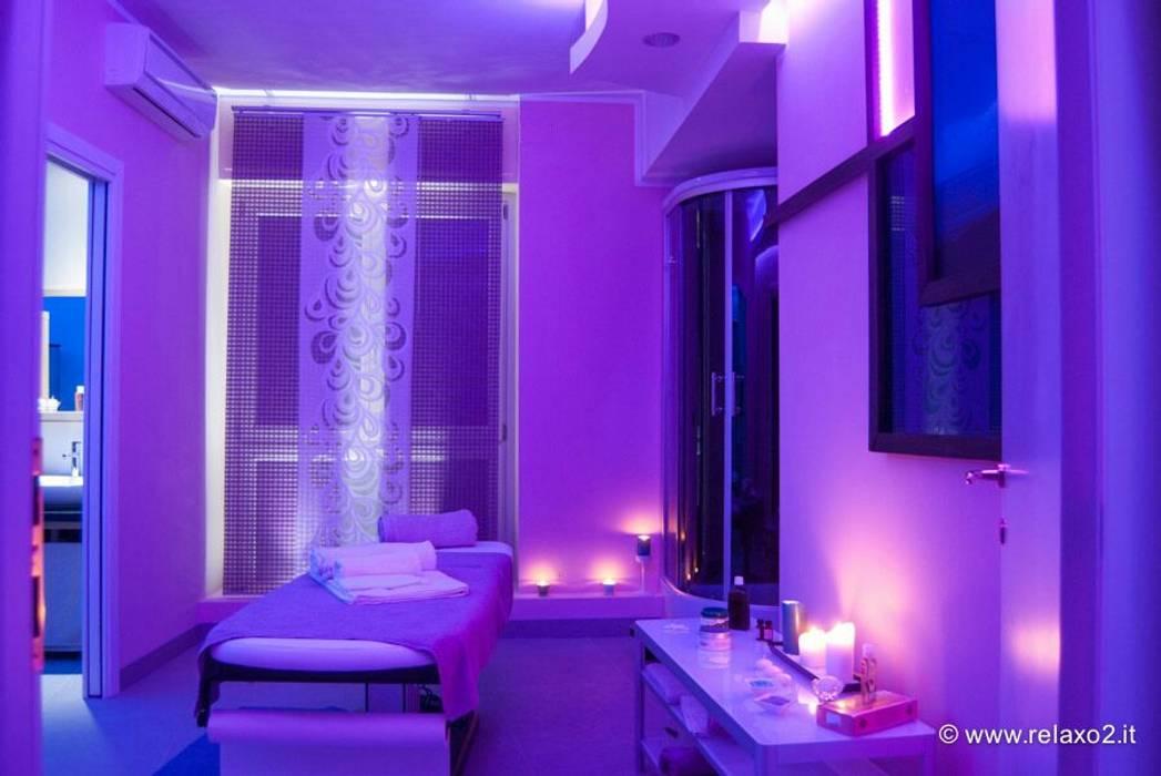 Relax O2: Spa in stile in stile Moderno di Studio Stefano Pediconi