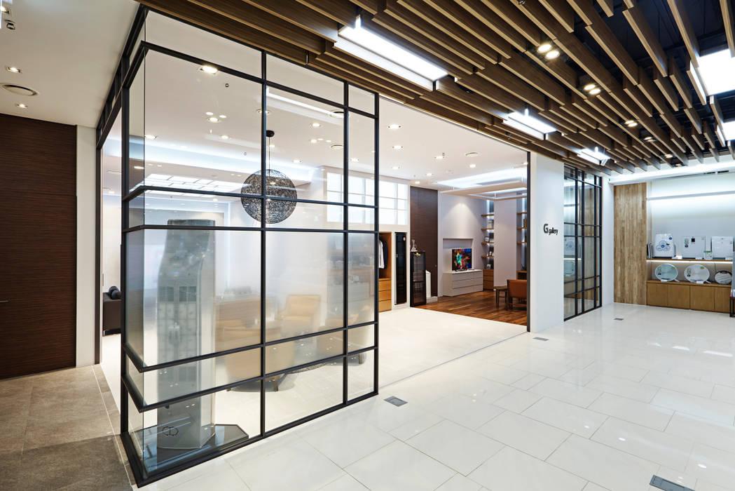 LG bestshop Flagship store Renewal 2015, Gangnam, Seoul, Korea: Design Solution의  상업 공간,