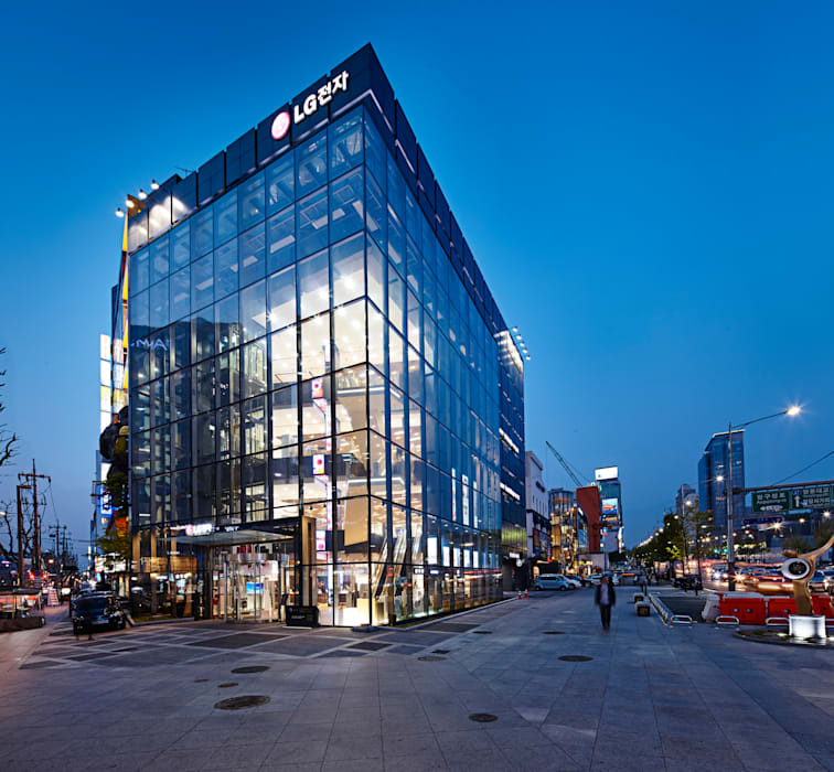 LG bestshop Flagship store Renewal 2015, Gangnam, Seoul, Korea by Design Solution 모던