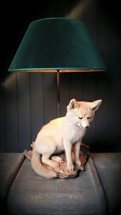 Fuchslampe Danny Christian Interior Design WohnzimmerBeleuchtung