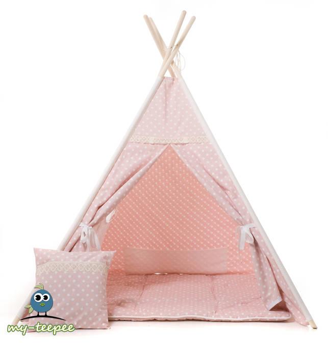 Kissen Für Kinderzimmer   My Teepee Kinder Spielzelt Rosa Mit Passender Decke Kissen